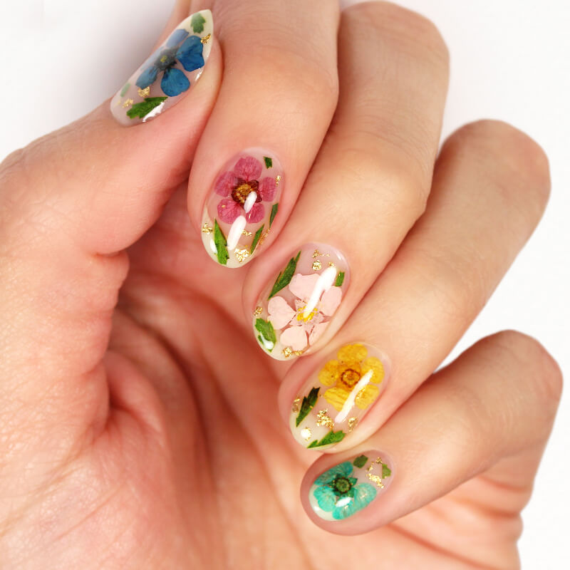 May 2021 Flower Nails Module Image