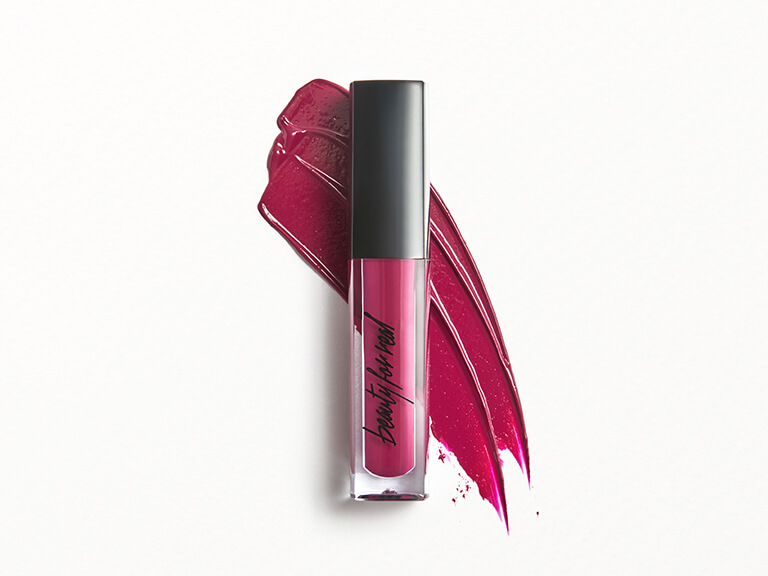 BEAUTY FOR REAL Lip Cream + Color in Hotter Than Miami