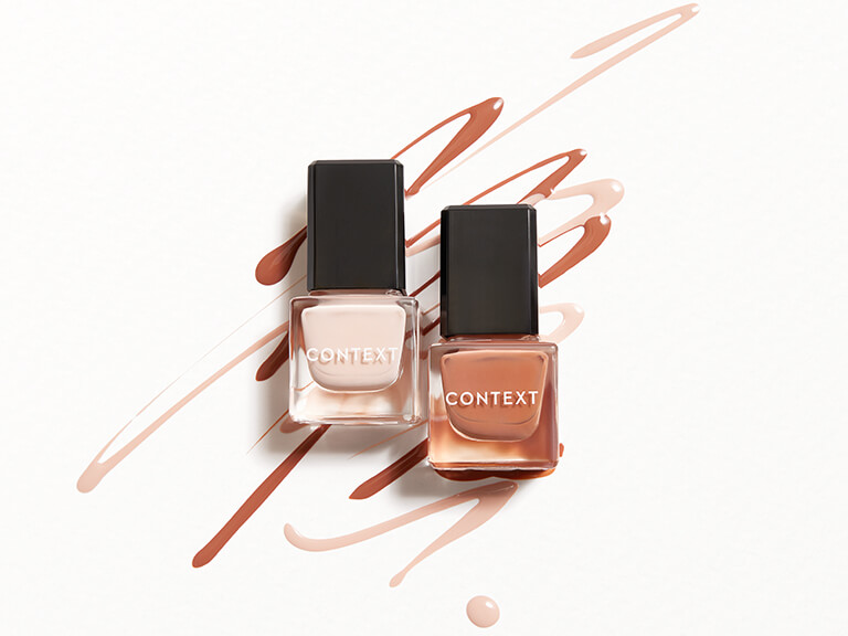 CONTEXT SKIN Nail Lacquer Duo in Piece of Me & The Last Mile