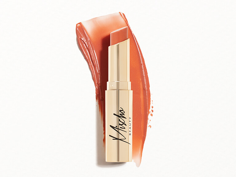 MISCHO BEAUTY Sheer Lip Shine + Lip Balm in Magnifique