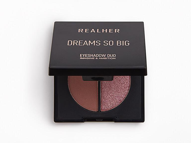 REALHER Dreams So Big Eyeshadow Duo in Imagine & Ambition