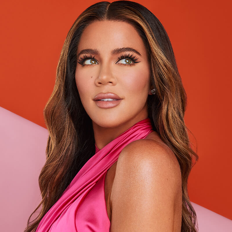 October 2020 Khloe Kardashian Hair Story Module