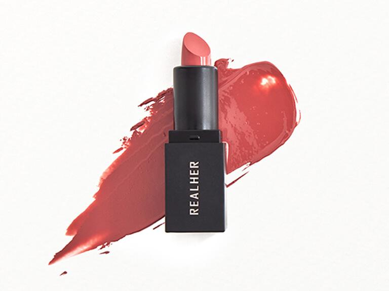 REALHER Moisturizing Lipstick in POSTIVE VIBES