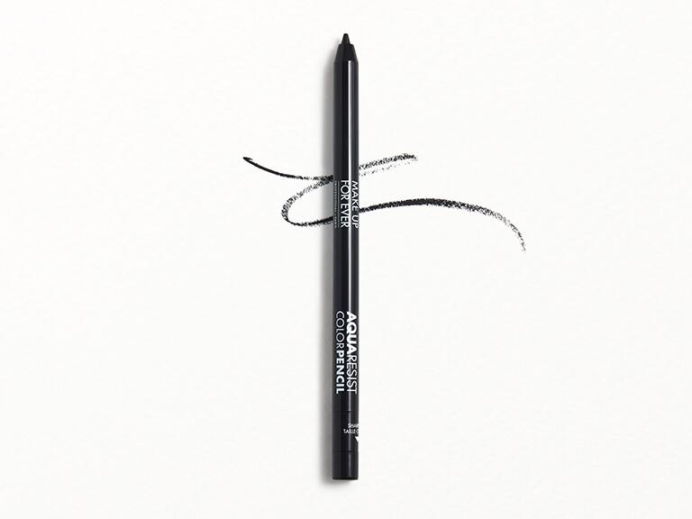 MAKE UP FOR EVER Aqua Resist Color Pencil Eyeliner in 01 Graphite - Black