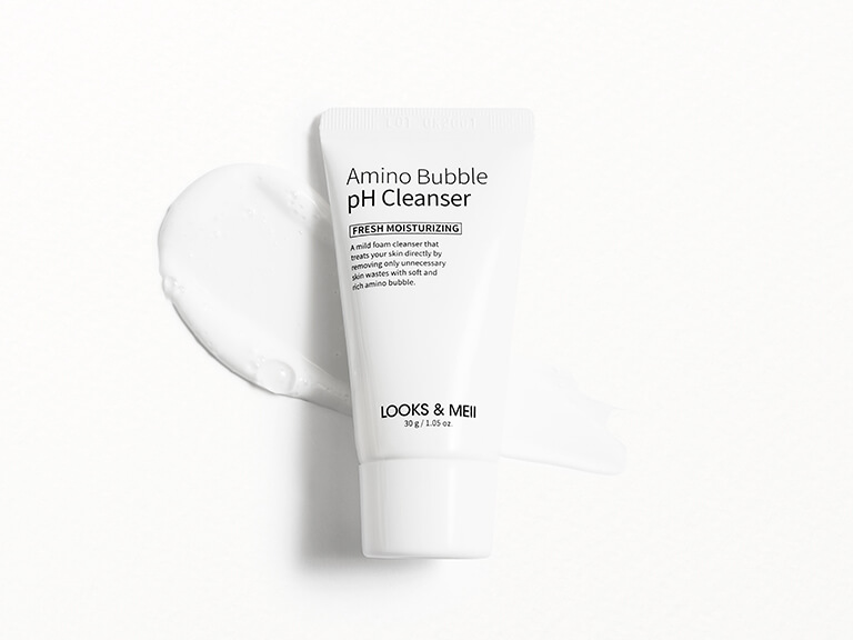 LOOKS&MEII COSMETIC Amino Bubble pH Balance Cleanser