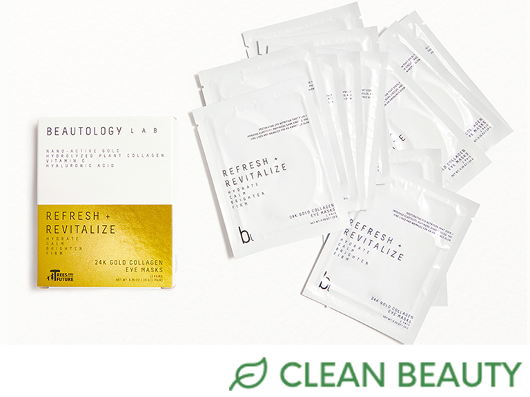 BEAUTOLOGY REFRESH + REVITALIZE 24K Gold Collagen Eye Masks