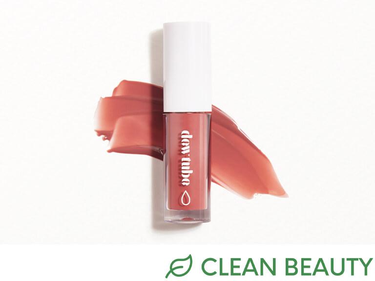 DEWTUBE Hydrating Lip Gloss in Petal