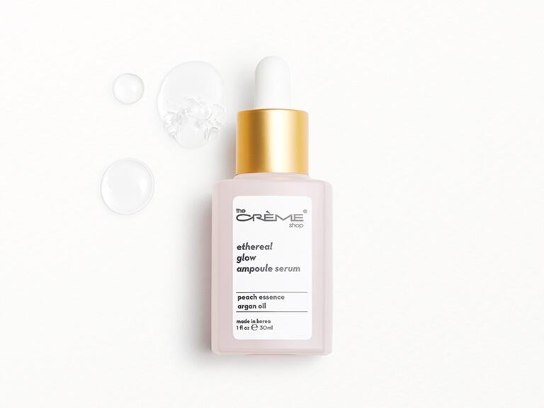 THE CRÈME SHOP Ethereal Glow Ampoule Serum - Crèmecoction Peach + Argan Oil