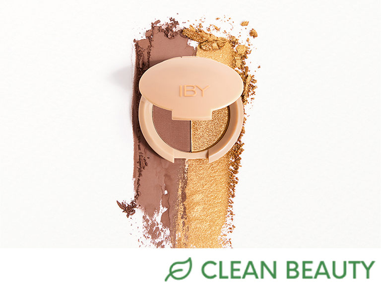 IBY BEAUTY Carry On 2 Face Palette - Glamping and First Class Eyeshadow