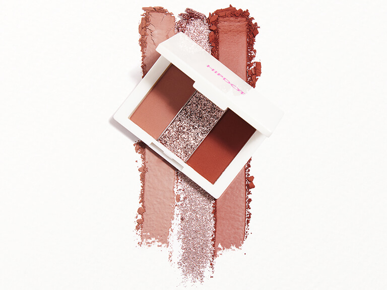 HIPDOT Pressed Pigment Trio in Dusk, Statuesque, and Muse