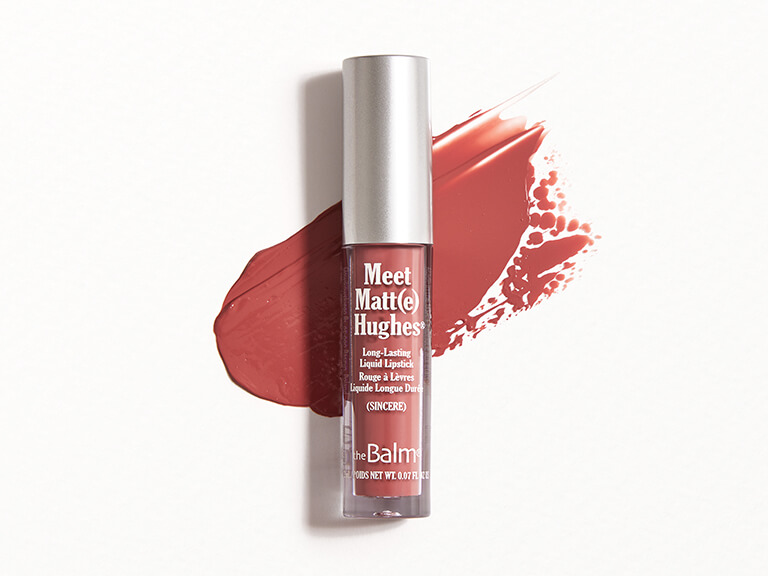 THEBALM COSMETICS Meet Matt(e) Hughes Liquid Lipstick in Sincere