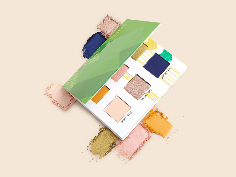 43095142f27c Game On Eyeshadow Palette by TETRISTM x ipsy | Color | Palettes ...