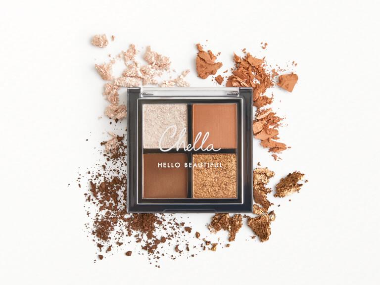 CHELLA La Vie Mini Quad Eyeshadow in Femme, Vitality, Instincts, and Dynamic