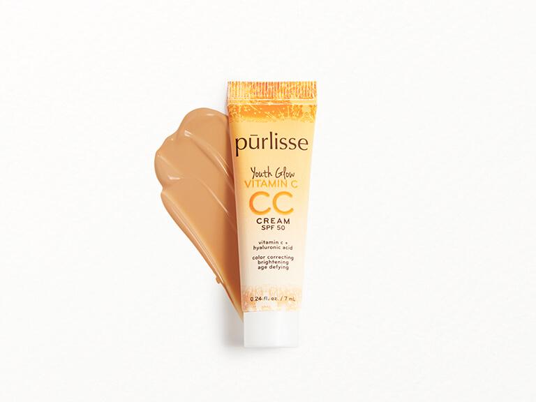 PURLISSE BEAUTY Youth Glow Vitamin C CC Cream SPF50 in Medium