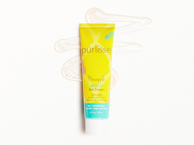 PURLISSE BEAUTY Pineapple Bright Brightening Gel Cream