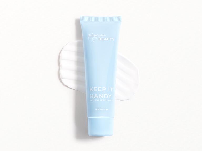 GLOW ON 5TH KEEP IT HANDY Hand Cream in Avocado