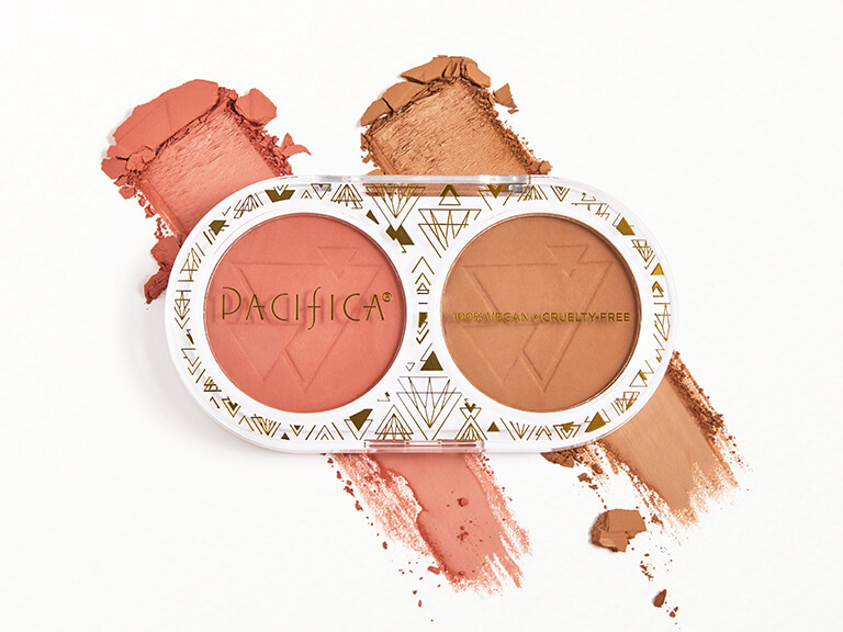 PACIFICA BEAUTY Bronzer and Blush Duo in Desert Matte and Sunset Matte