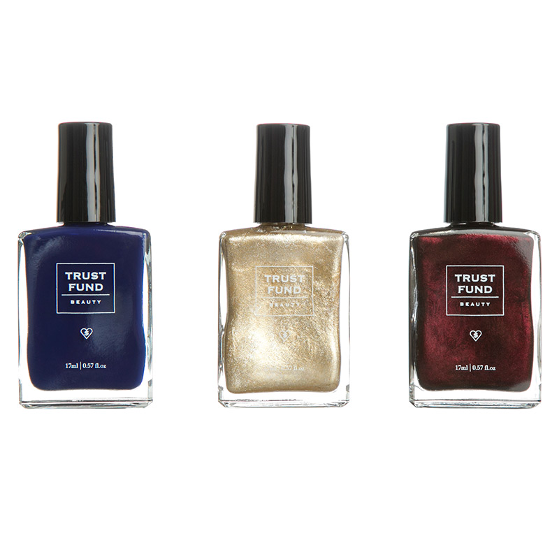 Offer: Rich & Famous Nail Polish Trio from TRUST FUND BEAUTY | ipsy