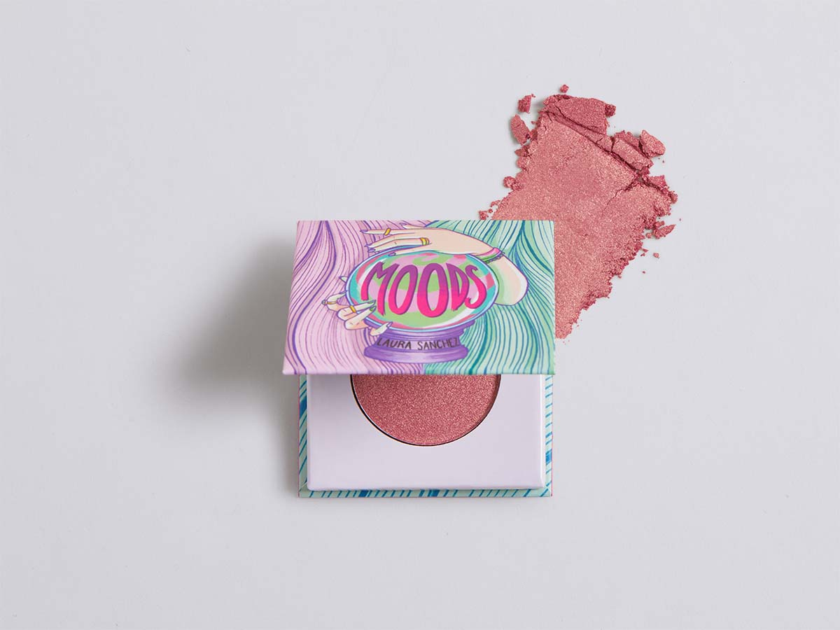 LAURA SANCHEZ Moods Eyeshadow in Rose Gold Woman