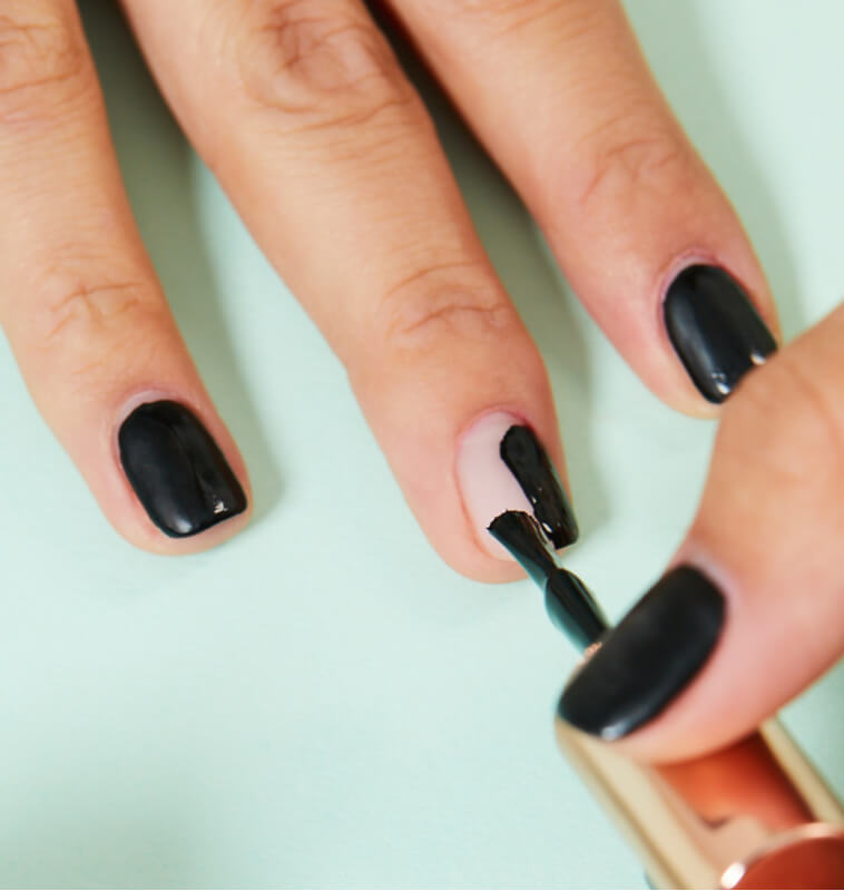 Nail Polish in Velvet Black Matte by KASCA | Nail | Nail Polish | ipsy