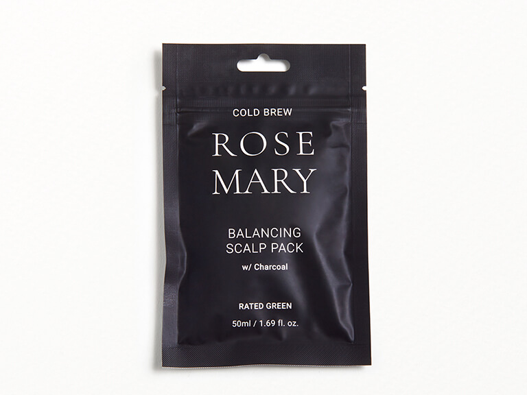 RATED GREEN Rosemary Balancing Scalp Pack with Charcoal