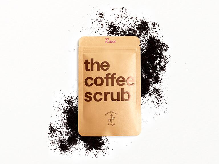 THE COFFEE SCRUB The Coffee Scrub in Rose