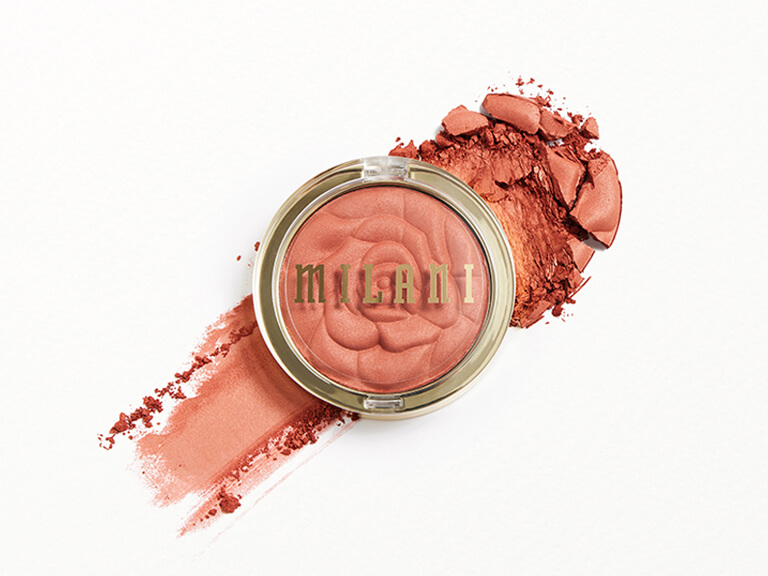 MILANI COSMETICS Baked Blush in Spiced Rose