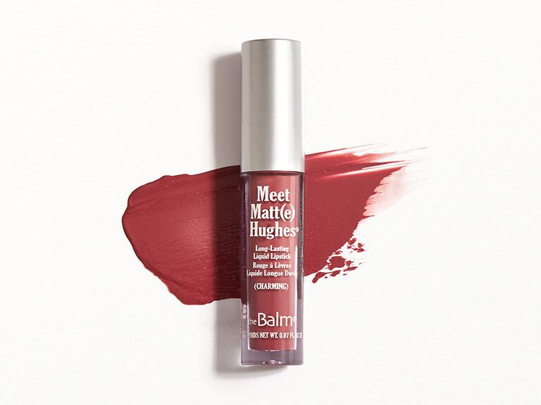 THEBALM COSMETICS Meet Matt(e) Hughes Liquid Lipstick in Charming