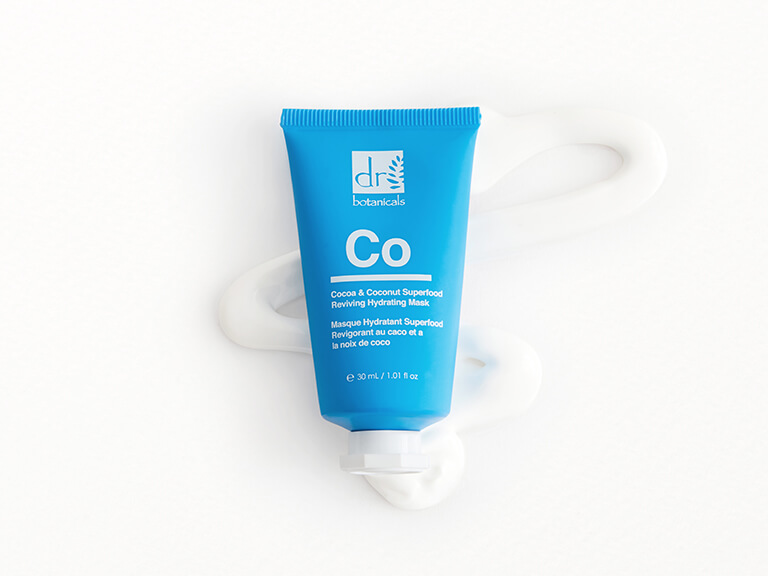 DR. BOTANICALS Cocoa & Coconut Superfood Reviving Hydrating Mask