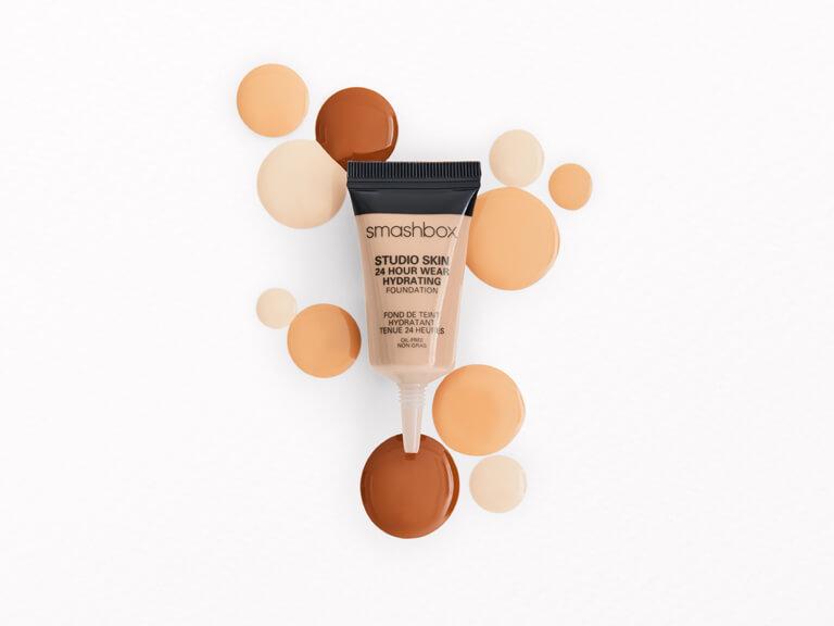 SMASHBOX COSMETICS Studio Skin 15 Hour Wear Hydrating Foundation in 0.3 Neutral 2