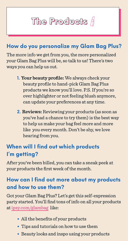 Glam Bag | ipsy