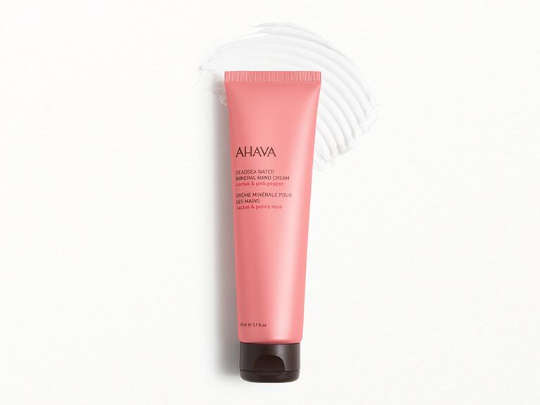 AHAVA Mineral Hand Cream in Cactus Pink Pepper