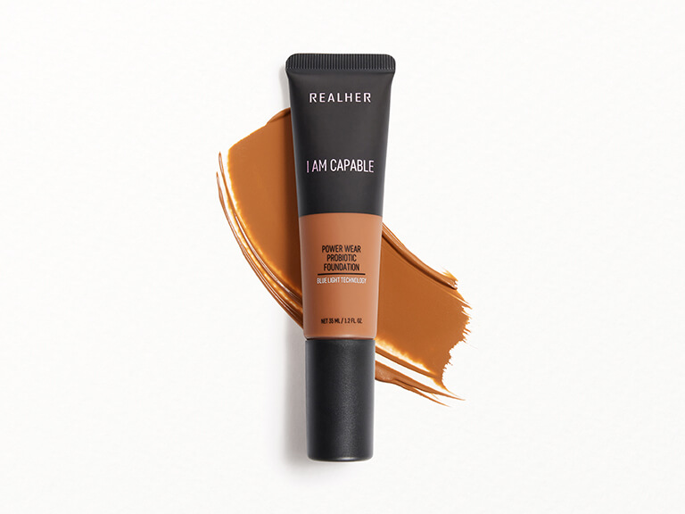 REALHER Power Wear Probiotic Foundation in I Am Capable
