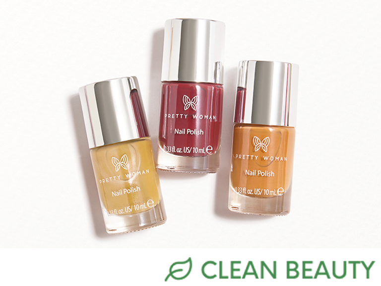 PRETTY WOMAN Nail Polish Fall Trio Set in Oh My Gourd!, Sweeter Than Honey, Put A Cork In It