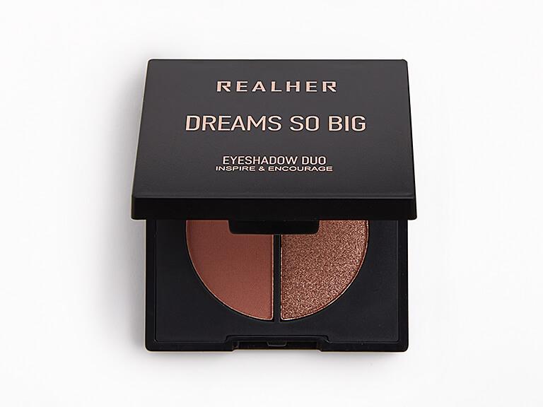 REALHER Dreams So Big Eyeshadow Duo in Inspire & Encourage