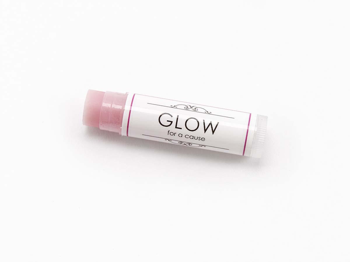 GLOW FOR A CAUSE Lip Love Lip Blam in Flirt