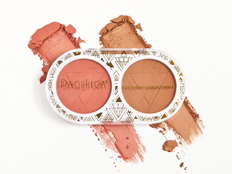 PACIFICA Desert and Sunset Matte Blush & Bronze Duo
