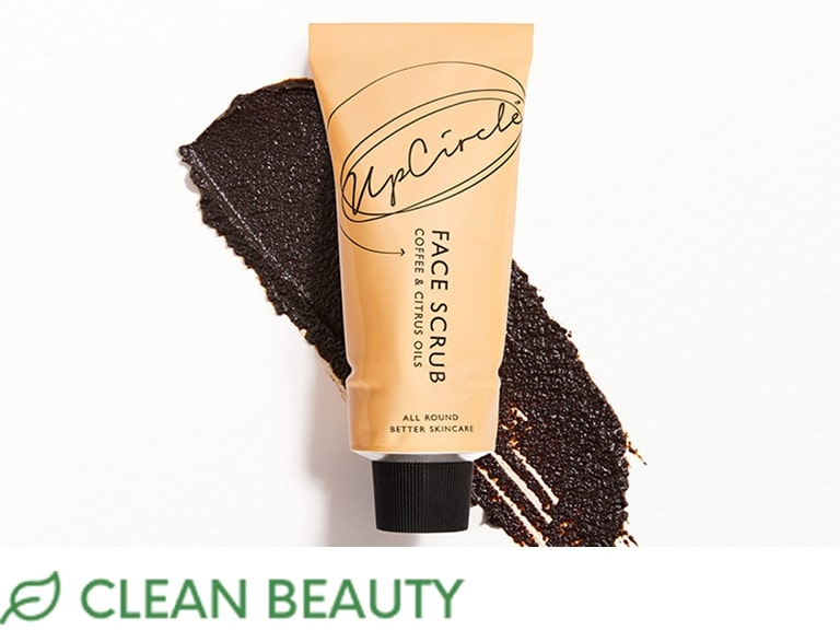 UPCIRCLE BEAUTY Coffee Face Scrub in Citrus Blend (CLEAN)
