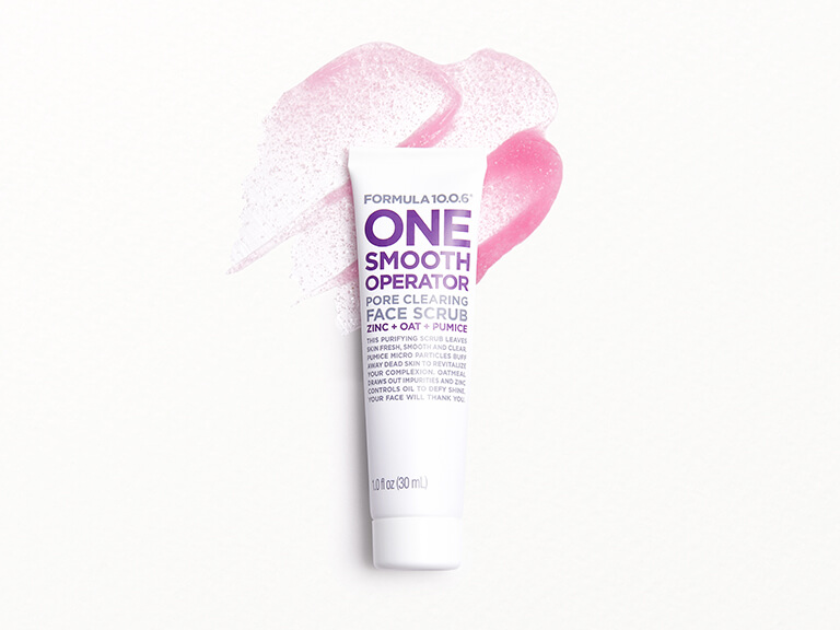 FORMULA 10.0.6 One Smooth Operator Pore Clearing Face Scrub