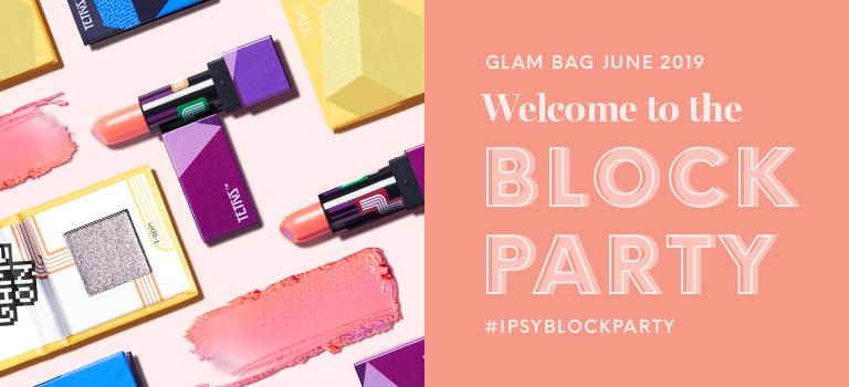 June 2019 Glam Bag Header Mobile