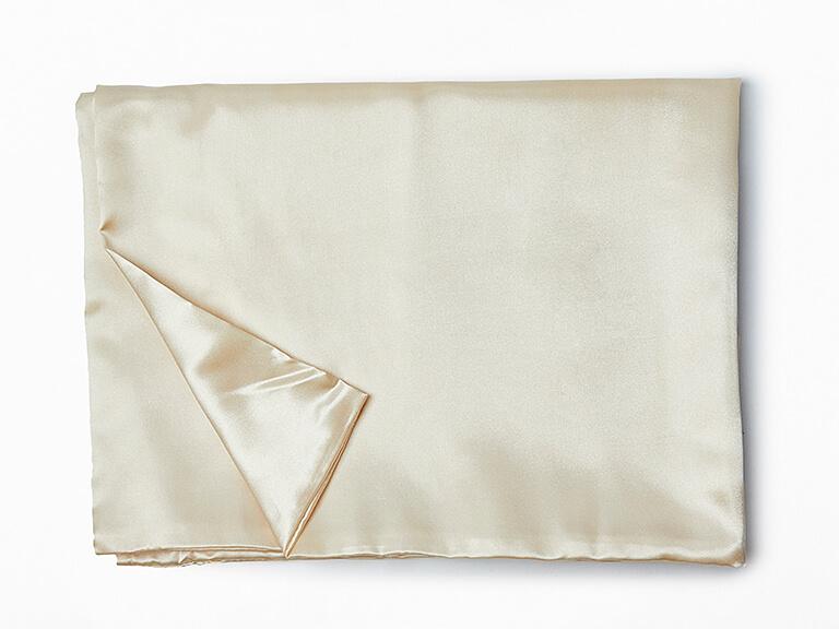 ZOE AYLA Satin Pillow Case in Champagne