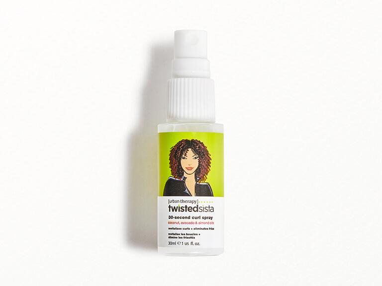 TWISTED SISTA 30 Second Curl Spray in Coconut Limonene
