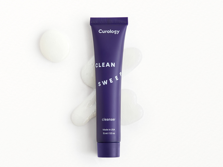 Curology Cleanser with swatch
