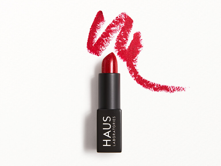 HAUS LABORATORIES Sparkle Lipstick in Burlesque