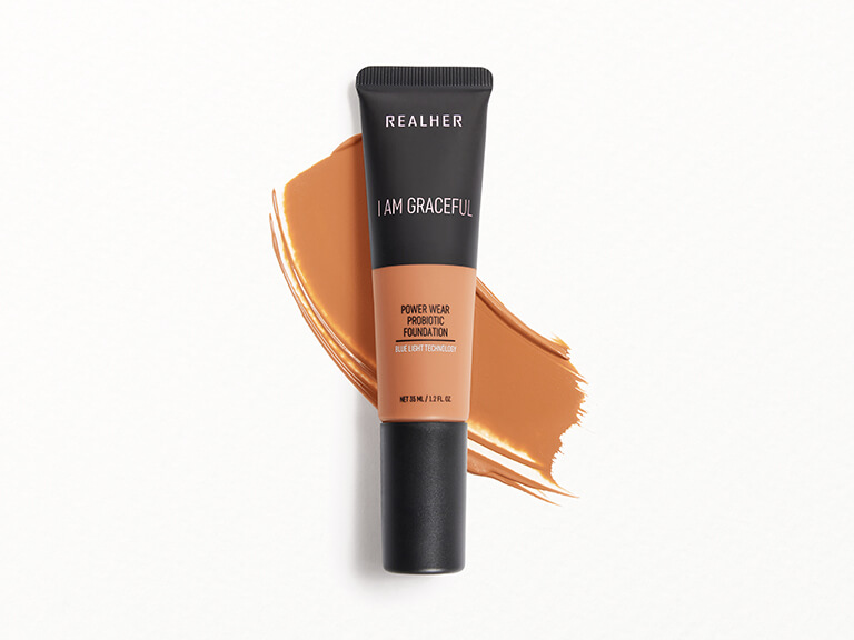 REALHER Power Wear Probiotic Foundation in I Am Graceful