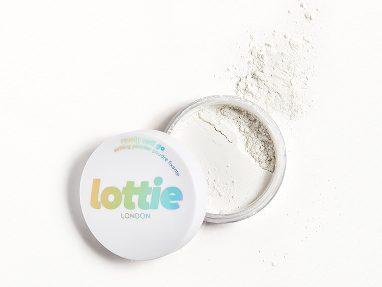 LOTTIE LONDON Ready Set! Go Loose Setting Powder in True Translucent
