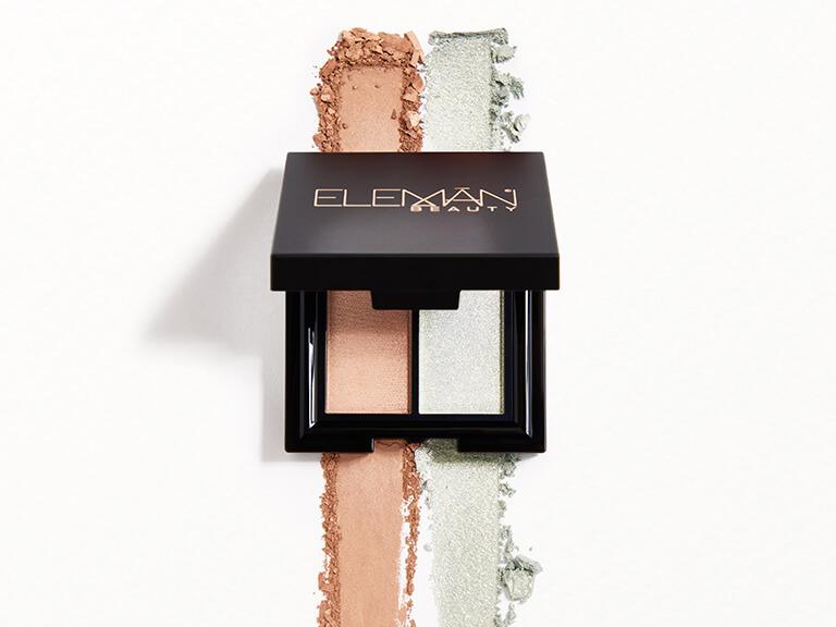 ELEMAN BEAUTY Eyeshadow Duo in Eden & Shallow