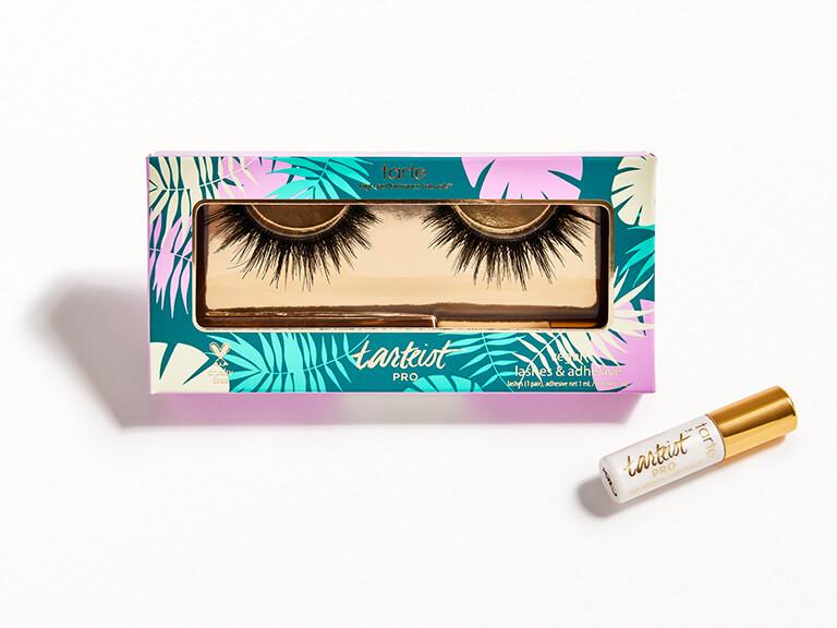 TARTE tarteist™ PRO cruelty-free lashes in goddess and lash glue