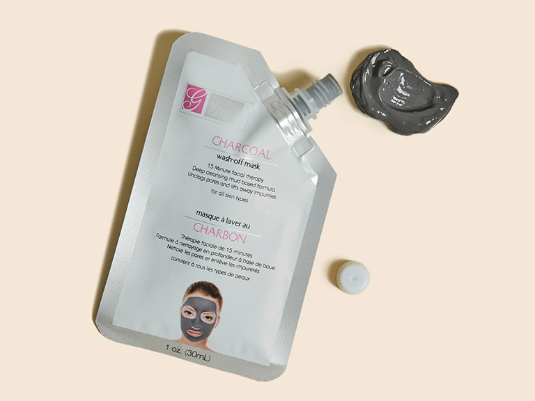 NEW-GLOBAL BEAUTY CARE Charcoal Wash Off Mask_11352