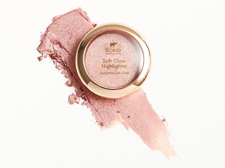 KOKIE COSMETICS Soft Glow Highlighter in Rosy